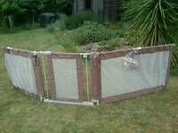 Brand new 'Sure and Secure' custom fit safety gate