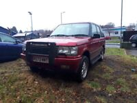 1998 range rover p38 4.6 v8 lpg runs and drives 5 month mot