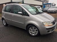 """FIAT IDEA 1.3""""""""05 PLATE """"""""74,000 MILES 2 OWNERS"""