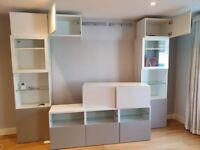 IKEA Besta TV stand and storage unit