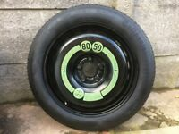Genuine Merecedes Space Saver Tyre From A180