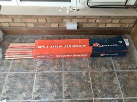 Gripperrods - 75m of Professional Super Premium Golden Carpet Gripper Medium Pin Gripper