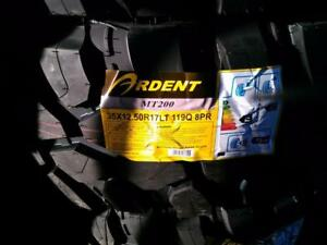 BRAND NEW MUD TIRES SET 35X12.50R17 119Q ARDENT MT200 FOR SALE
