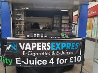 Vape Trailer with Pitch/ Small business opportunity