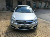 Vauxhall Astra Club Ecoflex Panel Van 2012 Silver Only £2750 o.n.o. Reluctant Sale