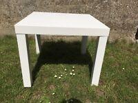 IKEA TABLE 55 x 55 cm white