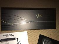 Genuine GHD straighteners.