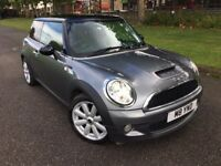 MINI COOPER S 2007 FACELIFT GREY 1.6 FULL MINI SERVICE HISTORY LEATHER CRUISE CONTROL 1 YEAR MOT