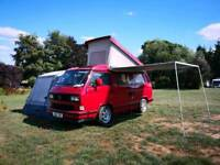 Volkswagen T25/T3 Westfalia Atlantic Red 2.0 Petrol Camper