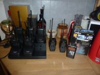 JOBLOT RADIO COMMUNICATION EQUIPMENT WALKIE TALKIES RECEIVER/SCANNERS