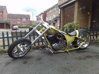 Custom Chopper for sale