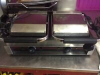 Double Commercial Contact Griddle