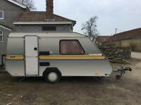 2-berth touring caravan