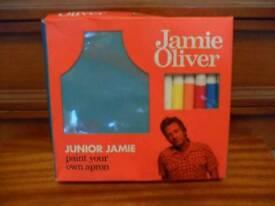 Jamie Oliver junior Jamie - paint your own apron