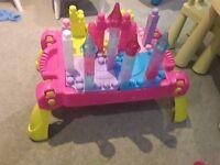 Lil Princess Mega Bloks Portable Playset Storage Table