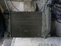 Car spares citroen saxo radiator. Usable condition