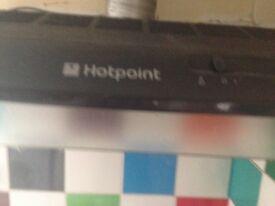 Gas cooker hotpoint & hood