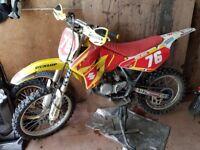 Motorcross suzuki RM85 2010