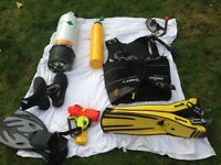 Full set of diving equipment £160