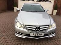 Very Low Mileage Mercedes E350 Coupe