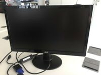 Acer 21.5 inch LCD computer screen. Manufactured March 2016. Include HDMI adapter