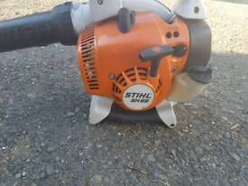 Stihl sh86 petrol blower like new