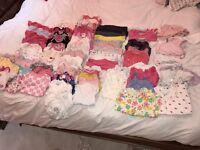 Baby girl clothes bundle, newborn, 0-3 months