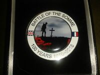 Battle of the somme medallion and badges