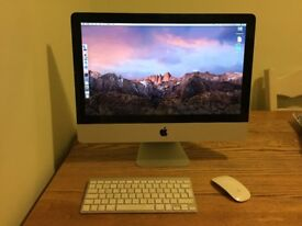 Apple iMac 21.5 inch Mid 2011 model, Excellent Condition