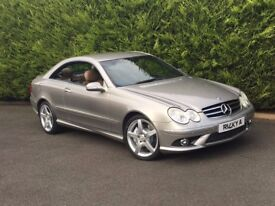 2006 Merecedes CLK 350 V6 Petrol AMG Sport, 69000 miles, FSH, 3 Owners, Rare