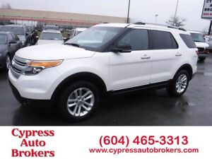 2015 Ford Explorer XLT (Leather, Sunroof & 7 Passenger Seating)