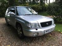 2002 Subaru Forester 2.0 sport 4wd NEW MOT &Tyres