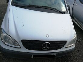 Mercedes Vito 2008 White - For parts only!
