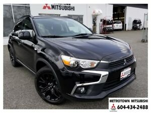 2017 Mitsubishi RVR 2.4L Black Edition; Corporate demo!