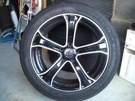 "18"" Jaguar XF Alloys"