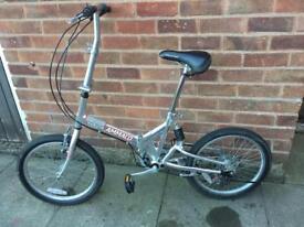 Ammaco folding adults bike