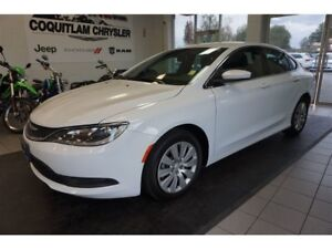 2017 Chrysler 200 LX - 4 cylinder, Automatic, Low KM