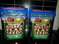 "Organic Flax seeds ""large bag"""