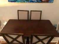 JUST REDUCED Gorgeous Wood Dining Table, Seats 6, Like New, from West Elm