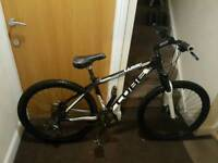 Cube comp mountain bike with hydraulic brakes