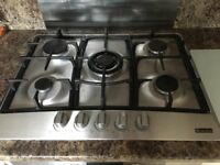 Bosch single electric fan oven and Lamona 5 burner gas hob for sale. Perfect working order