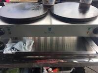 Royal Catering Double Crepe / Pancake Machine