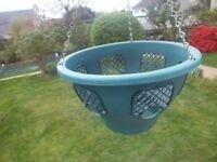 Easy Fill Hanging basket 30cm green