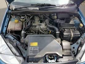 Ford focus 1.8 tddi diesel full engine / gearbox