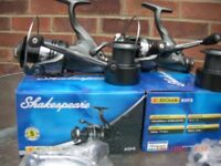 SHAKESPEARE SIGMA 60FS BAITRUNNER CARP FISHING REELS WELL CARED FOR