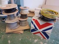 Cabling (assorted cables, electrician, electrics)