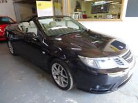 2007 SAAB 9-3 1.9 TiD VCTORE 2DOOR, CONVERTIBLE, FULL SERVICE HISTORY, HPI CLEAR, DRIVES LIKE NEW