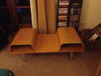 Retro Ikea solid wood coffee table