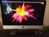 Apple iMac 27in 5K Retina late 2015 skylake 3.2ghz 1tb hard drive boxed with warranty