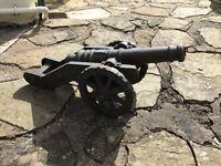 Cast iron canon